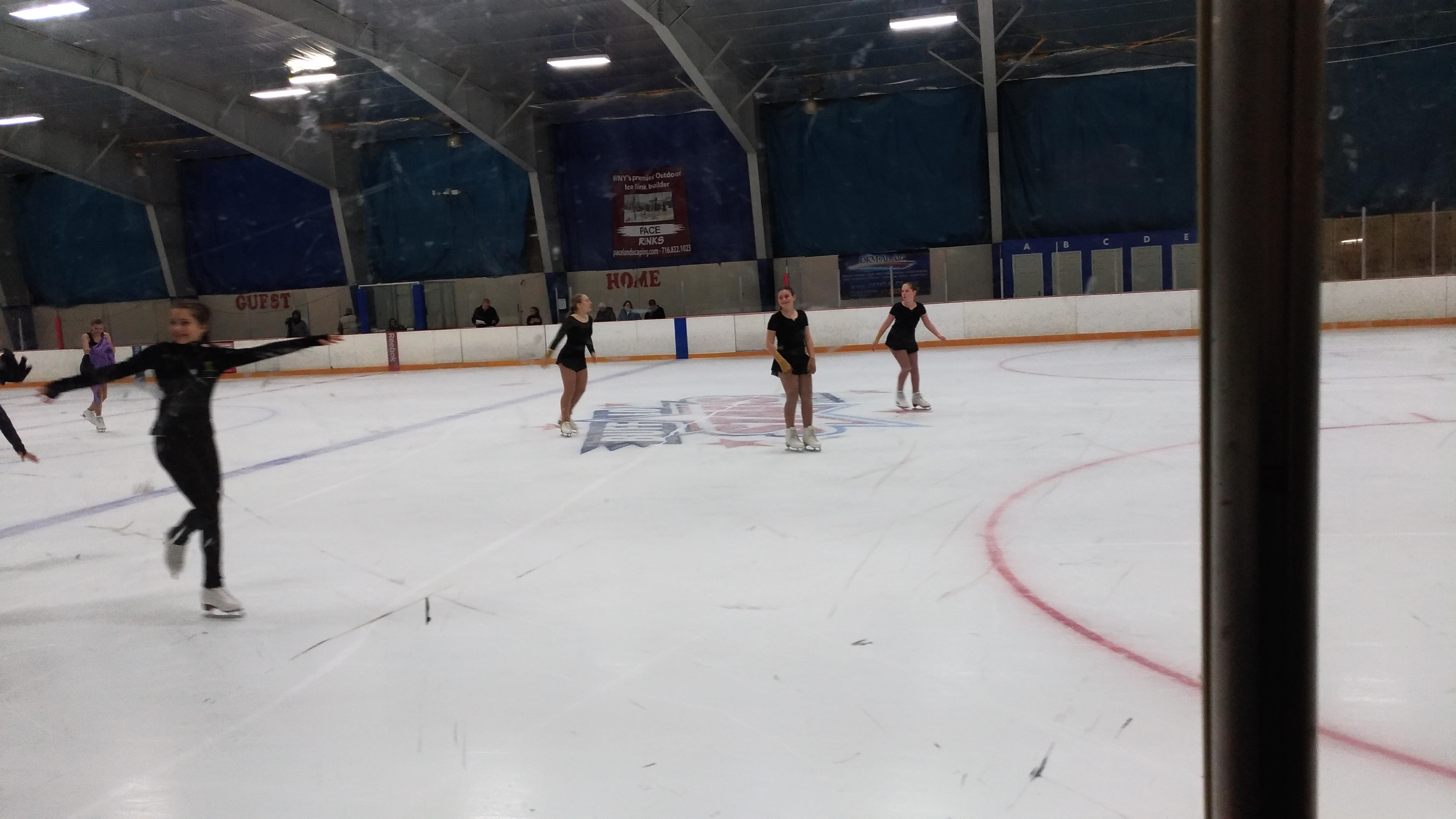 Roller skating rink etobicoke - Zoe Junie Zara And Janis